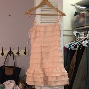 Princess Polly Pink Ruffle Dress